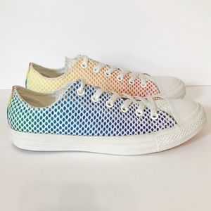 CONVERSE Chuck Taylor All Star Mesh Ox Pride Shoes
